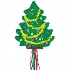 Christmas Party Supplies - Pinata Christmas Tree Pull
