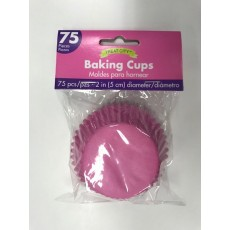 Bright Pink Cupcake Cases 5cm Pack of 75