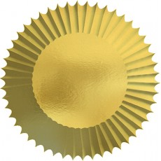 Gold Cupcake Cases 5cm Pack of 150