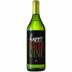 Halloween Wicked Bottle Labels Hapy Hallo Wine Misc Accessories 18cm Pack of 5