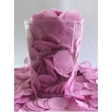 Pink Tissue Circles Confetti 200g Single Pack