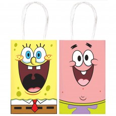 SpongeBob Party Supplies - Favour Bags Paper Kraft