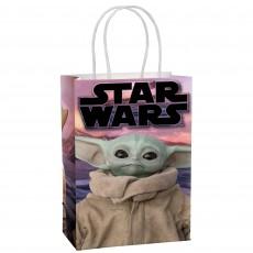 Star Wars Party Supplies - Favour Bags The Mandalorian Kraft Paper