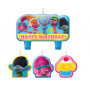 Trolls Mini Moulded Candles Pack of 4