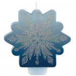 Disney Frozen 2 Glittered Candle 8cm