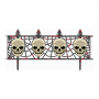 Halloween Skull Fence Misc Decorations 31cm x 63cm Pack of 2