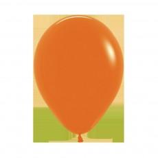 Fashion Orange Latex Balloons 45cm Pack of 6