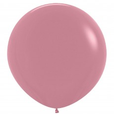 Fashion Rosewood Pink Latex Balloons 60cm Pack of 3