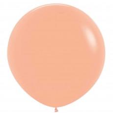 Fashion Peach Blush Pink Latex Balloons 60cm Pack of 3