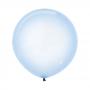 Teardrop Crystal Pastel Blue Latex Balloons 60cm Pack of 3