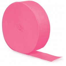 Candy Pink Crepe Streamer 24.68m