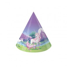 Unicorn Fantasy Party Hats Pack of 8