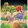 Dinosaur Dino Blast Stand-Up Centrepiece
