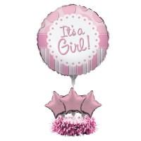 Baby Shower - General Centrepieces 61cm Pink