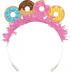 Donut Time Tiaras Pack of 8
