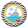 Ahoy Matey Lunch Plates 18cm Pack of 8
