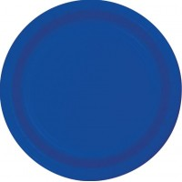 Blue Dinner Plates 23cm Cobalt Blue Pack of 24
