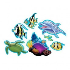 Ocean Party Cutouts Pack of 7