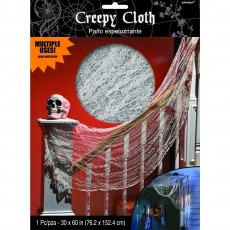 Halloween Party Supplies - Misc Decorations - Bloody Creepy Cloth