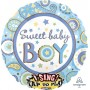 Baby Shower - General Sing-A-Tune XL Sweet Baby Boy Singing Balloon 71cm