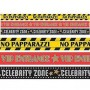 Hollywood Lights! Camera! Action! Glossy Plastic Party Tape 9.14m