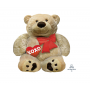 Love SuperShape Cuddly Bear Shaped Balloon 69cm x 71cm