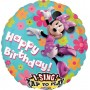 Round Minnie Mouse Sing-A-Tune XL Singing Balloon 71cm