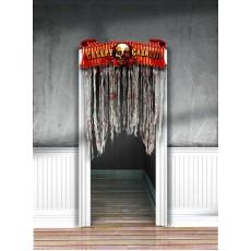 Halloween Creepy Carnival Door Decoration 137cm x 96cm