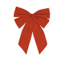 Christmas Party Decorations - Small Gathered Bow