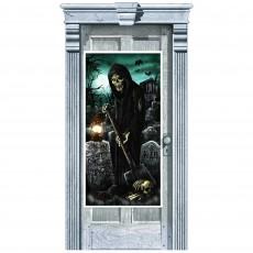 Halloween Cemetery Door Decoration 1.65m x 85cm