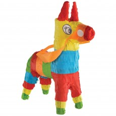 Mexican Fiesta Party Decorations - Mini Donkey Pinata