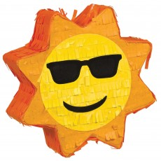 Hawaiian Party Decorations Sun Shaped Mini Pinata Misc Decorations