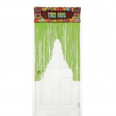 Hawaiian Summer Luau Tiki Hut Door Decoration 137cm x 96cm