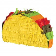 Mexican Fiesta Party Decorations - Mini Taco Pinata