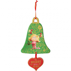 Christmas Dr Seuss The Grinch Movie Heart of a Who Hanging Decoration 10cm x 19cm