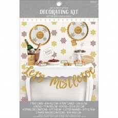 Christmas Deluxe Buffet Let's Mistletoe Decorating Kit