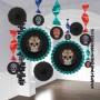 Halloween Sugar Skull Room Decorating Kit