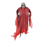 Red Halloween Life Size Reaper Hanging Decoration 2.13m