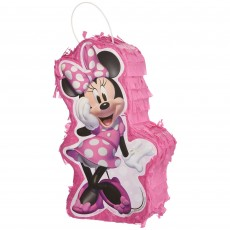 Minnie Mouse Party Decorations - Centrepiece Forever Mini Pinata