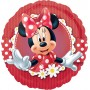 Round Minnie Mouse Mad about Minnie Standard HX Foil Balloon 45cm
