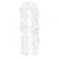 White Party Supplies - Feather Boa