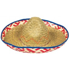 Mexican Fiesta Party Supplies - Sombrero Straw Hat