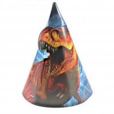 Jurassic World Party Hats Pack of 8