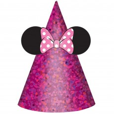 Minnie Mouse Happy Helpers Cone Party Hats Pack of 8