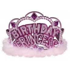 Princess Party Supplies - Tiara Marabou