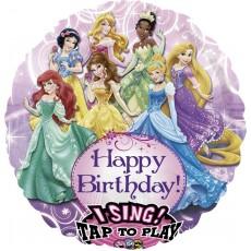 Disney Princess Jumbo XL Sing-A-Tune Singing Balloon 71cm