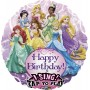 Disney Princess Jumbo XL Sing-A-Tune Singing Balloon 71cm