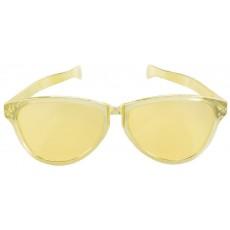 Gold Jumbo Glasses Head Accessory 28cm
