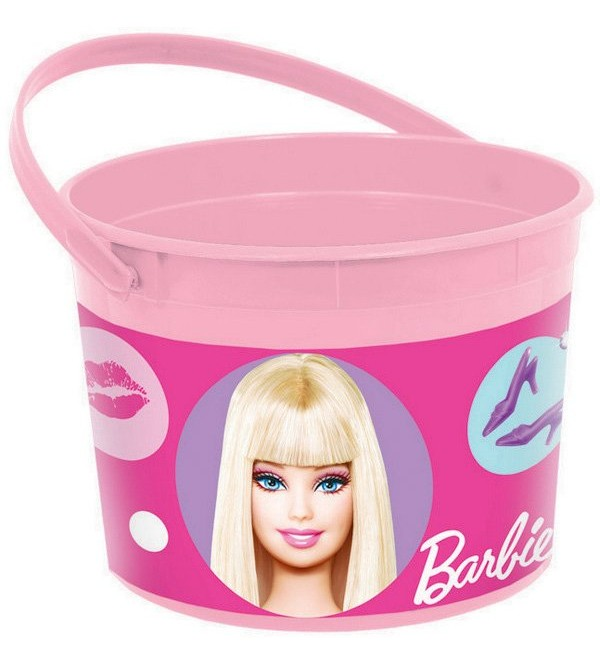 Barbie All Doll'd Up Container Favour Box