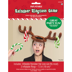Christmas Reindeer Ring Toss Party Game